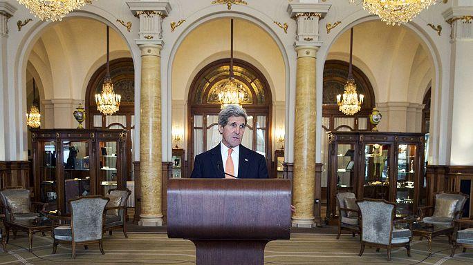 """Kerry: """"Nükleer müzakerelerde hala alınması gereken çok yol var"""""""