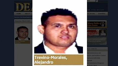 Mexico: Zetas drugs cartel boss Omar Trevino arrested