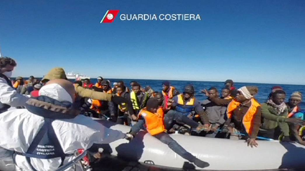 Mediterranean migrants 'forced to take to sea'