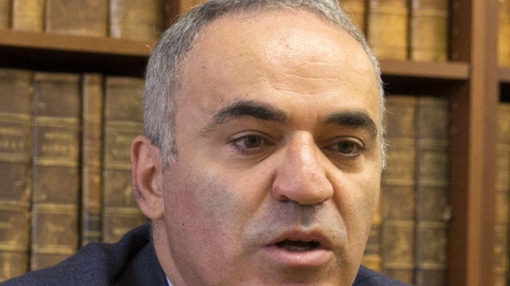 Kasparov ne mâche pas ses mots contre Poutine devant le Sénat américain