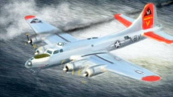 Scoperta in acque svedesi carcassa bombardiere Usa abbattuto nel 1944