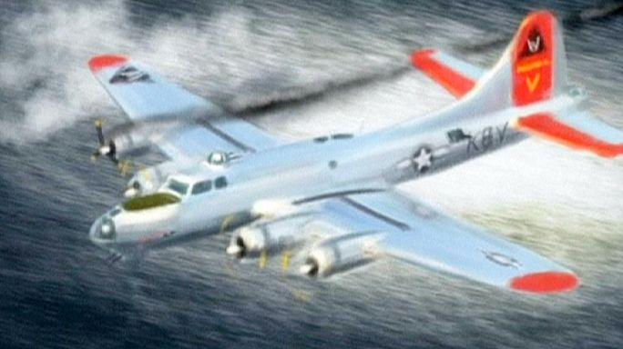 L'épave d'un bombardier de 1944 découverte en Suède