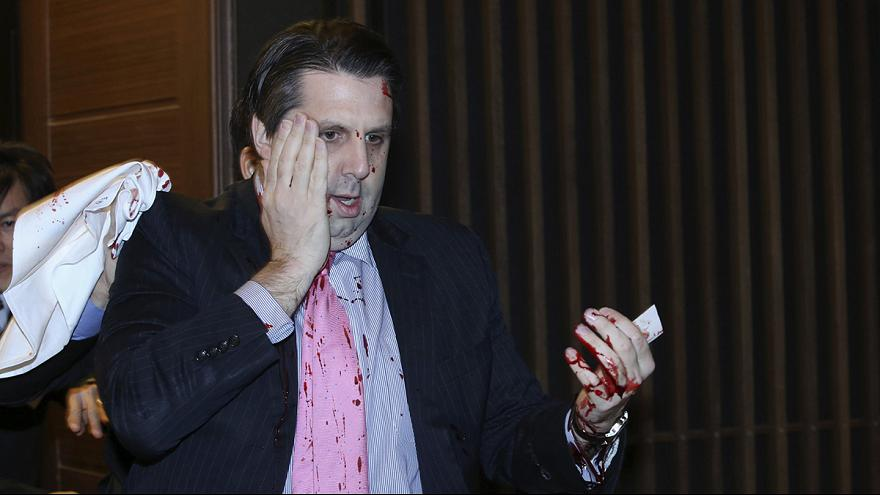 US ambassador to South Korea injured in knife attack