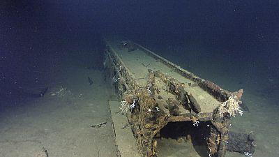 [Watch] Japanese WW2 battleship found off coast of the Philippines