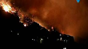 South Africa: Homes destroyed in raging Cape Town wildfires