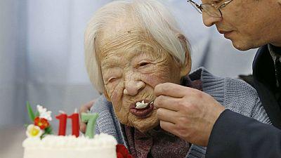 Happy 117th birthday Misao Okawa!