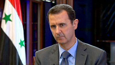 Siria: Bachar al Asad dice que la lucha contra el terrorismo depende de Europa