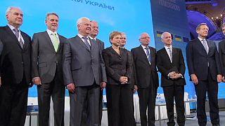 نشست گروهی از سیاستمداران و تجار در وین برای کمک به اقتصاد اوکراین
