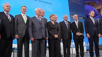 International group is formed to help kick-start the Ukraine economy