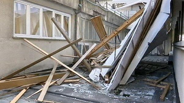 طوفان و بارندگی در ایتالیا ۲ کشته برجا گذاشت