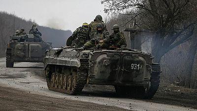 Ukraine: Parlament beschließt Verstärkung der Truppen