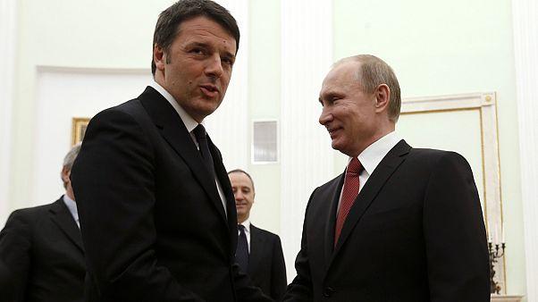 Ρωσία: Το θέμα της Ουκρανίας κυριάρχησε στη συνάντηση Πούτιν - Ρέντσι