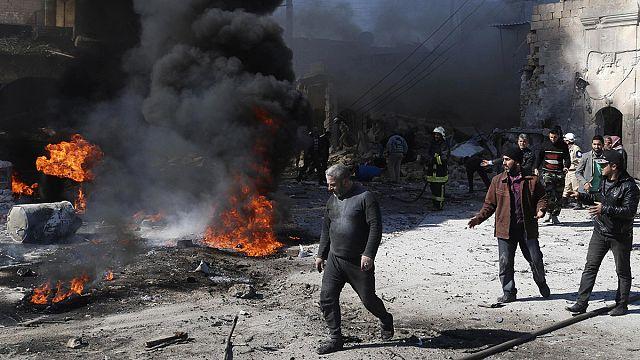 Esad güçleri yine varil bombasıyla vurdu