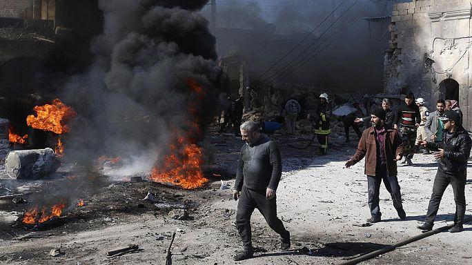 Алеппо: 18 гражданских лиц стали жертвами атаки правительственных сил