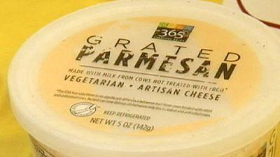 Protesta en Italia por el falso queso parmesano