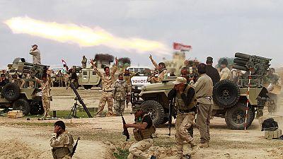 Contraataque de las fuerzas iraquíes contra los islamistas en el oeste y el norte de Bagdad