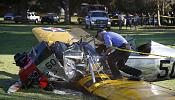 Harrison Ford 'battered but OK' after crash landing plane