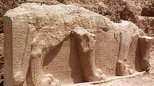 El grupo Estado Islámico arrasa Namrud, un sitio arqueológico iraquí de más de 3.000 años