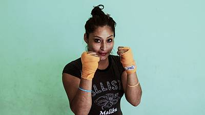 Nicaraguan women pack a punch