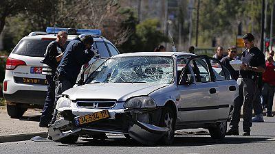 Un automovilista palestino hiere a cinco personas en Jerusalén, en el mismo lugar de dos ataques anteriores