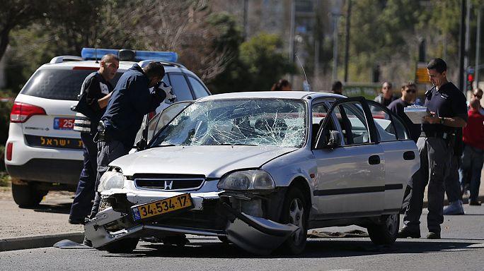 فلسطيني يدهس إسرائيليين بسيارته في القدس