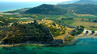 Η ιστορία αποκαλύπτεται στα ερείπια της βυζαντινής Ανακτορόπολης