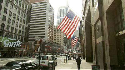 US employment figures on the up for the 12 th month in a row