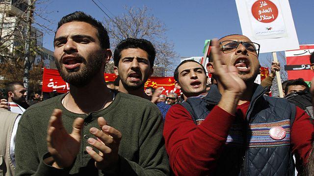 الأردن :مظاهرة ترفض استيراد الغاز من إسرائيل