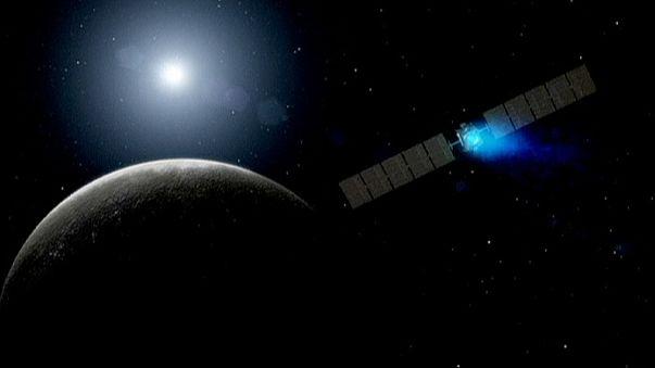 La sonda Dawn se incorpora a la órbita del planeta enano Ceres tras viajar 4 900 millones de kilómetros