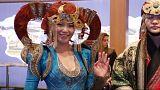 Туристическая ярмарка в Берлине проходит под знаком Монголии