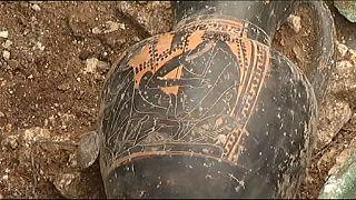 Kelta sírt fedeztek fel Franciaországban