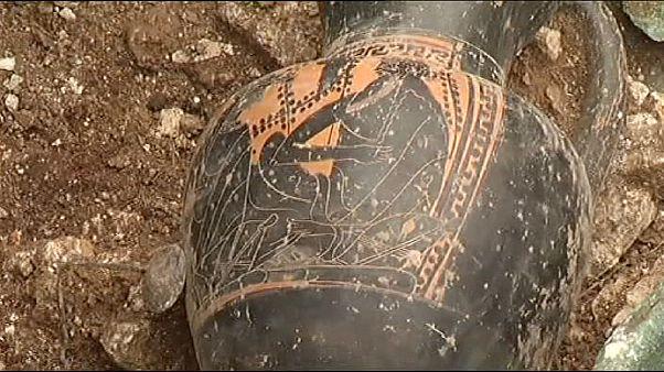Hallada en Francia una tumba que podría pertenecer a un príncipe celta del siglo V AC