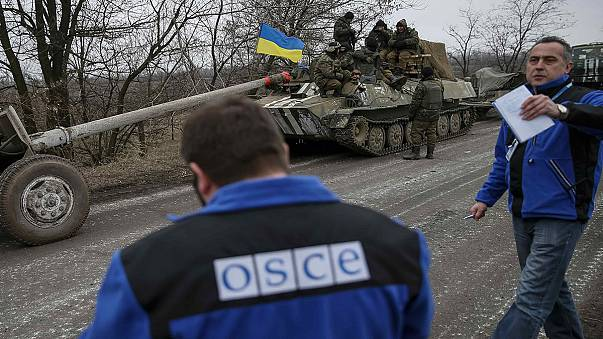 أوكرانيا: إتفاق أوروبي روسي على زيادة عدد مراقبي منظمة الأمن و التعاون في أوروبا