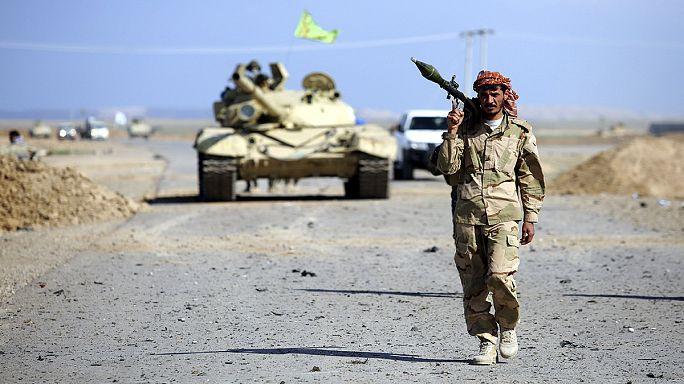 إيران تقاتل داعش على الأرض وفي العراق