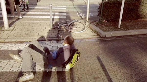 Un vídeo denuncia del mal trato a los ciclistas en Bruselas se convierte en viral