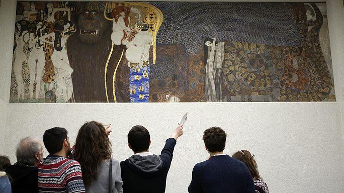 """L'Autriche conserve la """"Frise Beethoven"""" de Klimt"""