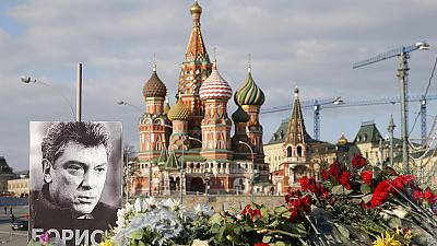 Russia arrests two suspects in Nemtsov murder inquiry