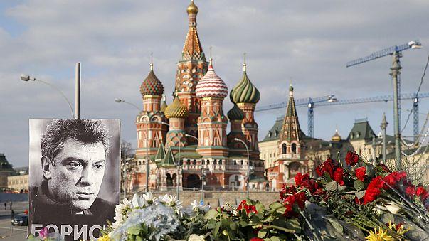 Nyemcov-gyilkosság: két férfit őrizetbe vettek