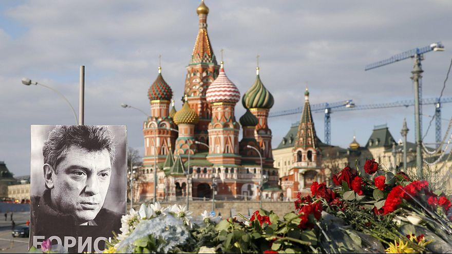 Russia arrests two suspects in Nemtsov murder inquiry