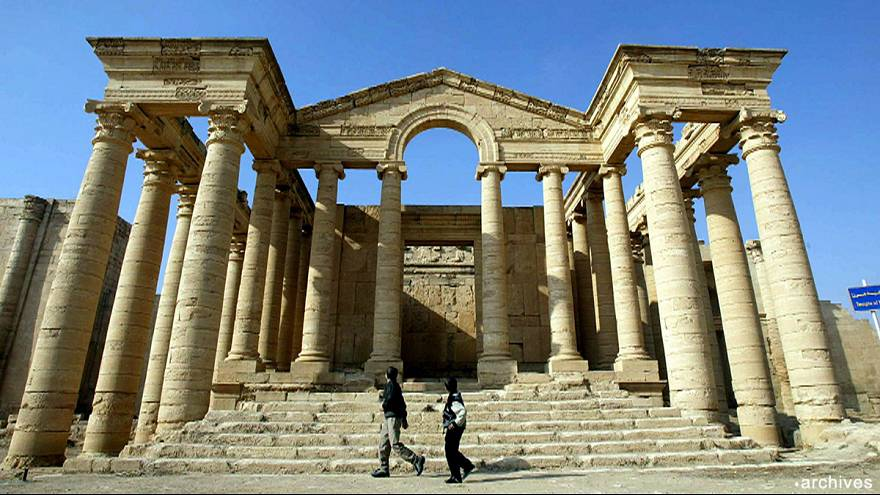 ISIL militants bulldoze ancient city of Hatra