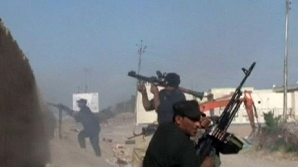 Bejutott Tikrit városába az iraki hadsereg