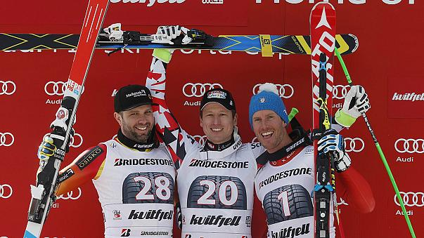 Reichelt clinches World Cup downhill in Norway