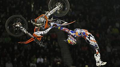 Red Bull X-Fighters World Tour opens in Mexico City
