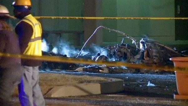 US: Helicopter crashes near hospital killing pilot