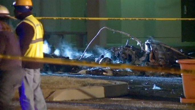 Катастрофа медицинского вертолета в Миссури