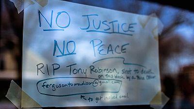 USA : manifestation à Madison contre les violences policières