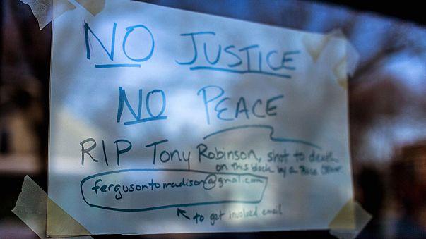 ABD'nin Wisconsin eyaletinde polis şiddeti protesto edildi