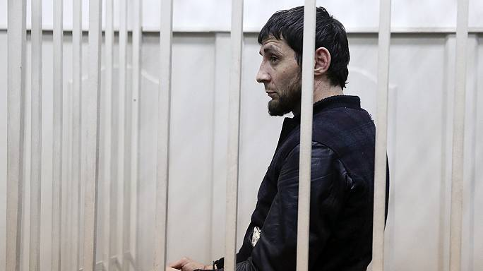 Five suspects in Moscow court in connection with Nemtsov murder