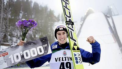 Kraft claims World cup event in Lahti