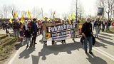 Miles de ecologistas alemanes recuerdan la tragedia nuclear de Fukushima